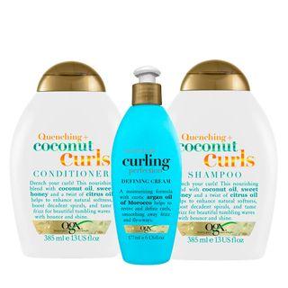 ogx-coconut-curls-e-argan-oil-refletion-kit-shampoo-condicionador-creme-de-pentear