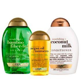 ogx-bamboo-fiberfull-coconut-milk-e-marocco-penetrating-oil-kit-shampoo-condicionador-oleo