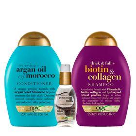 ogx-argan-oil-coconut-milk-e-biotin-colagen-kit-shampoo-condicionador-serum