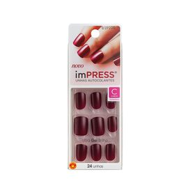unhas-de-gel-curtas-autocolantes-impress-kiss-e-tell-matchmaker
