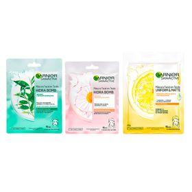 garnier-skin-mascaras-faciais-kit-calmante-matificante-vitamina-c