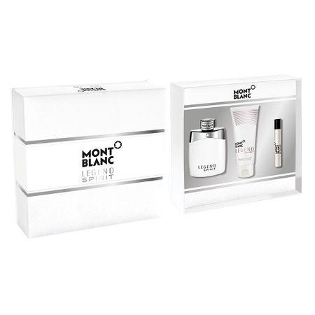 Montblanc Legend Spirit Kit - EDT + Pós Barba + Miniatura EDT - Kit