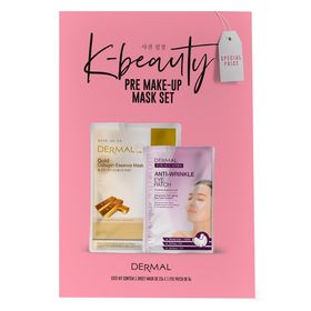 Dermal-Pre-Make-Up-Kit-–-2-Mascaras-Faciais-Sheet-Mask