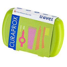 curaprox-escova-de-viagem-kit-escova-de-dentes-miniCreme-dental-escova-interdental-caixa