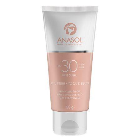 Protetor Solar Facial com Cor FPS 30 Anasol - 60g