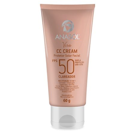 CC Cream Facial FPS50 Anasol - Viso - 60g