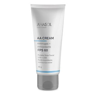 Protetor-Solar-Anasol-AA-Cream-Facial-FPS-60-40g