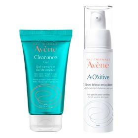 avene-kit-serum-facial-a-oxitive-gel-de-limpeza-facial