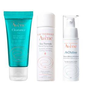 avene-kit-serum-facial-agua-termal-gel-de-limpeza
