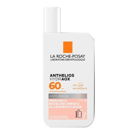 Protetor Solar Com Cor La Roche-Posay Anthelios Hydraox FPS 60 - Nude