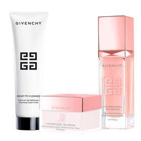 givenchy-kit-gel-demaquilante-serum-hidratante-creme-facial