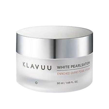 Hidratante Facial Klavuu - White Pearlsation Enriched Divine Pearl Cream - 50ml