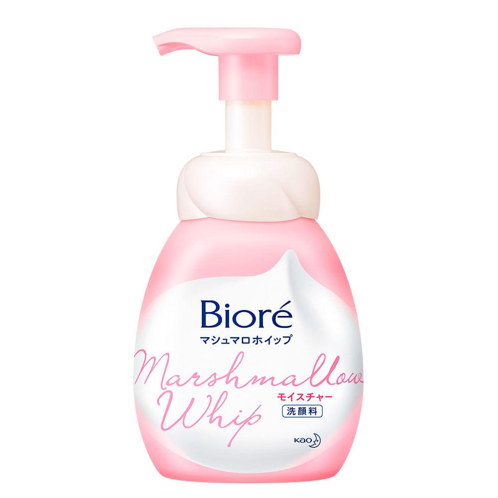 Sabonete Líquido Facial Bioré - Marshmallow Whip Moisture
