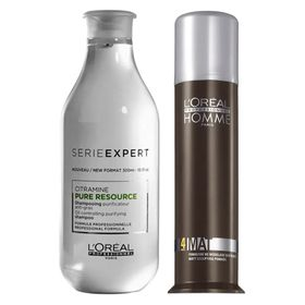 loreal-professionnel-homme-pure-resource-kit-pomada-bastao-shampoo