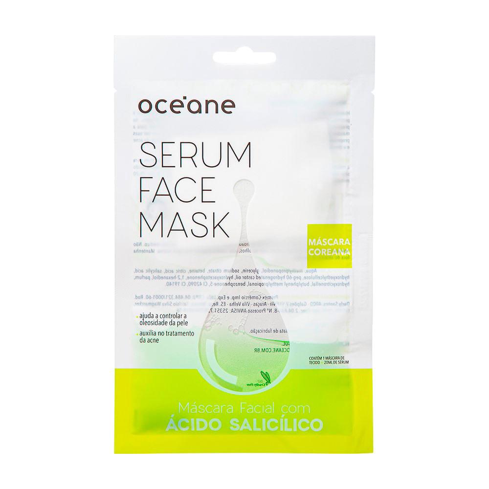 Máscara Facial com Ácido Salicílico Océane – Sérum Face Mask