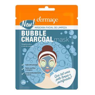 mascara-facial-dermage-bubble-charcoal-mask