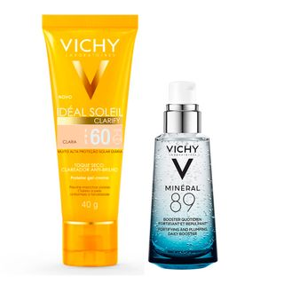 vichy-mineral-89-ideal-soleil-clarify-clara-kit-hidratante-facial-protetor-solar-fps60