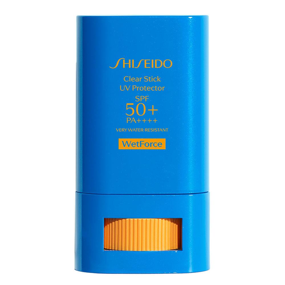 Protetor Solar em Bastão Shiseido - Clear Stick UV Protector FPS 50