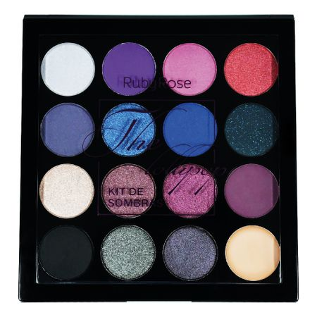 Paleta de Sombras Ruby Rose  The Lollipop - nenhuma