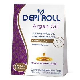 folhas-depilatorias-corporais-depiRoll-folhas-prontas-argan-oil
