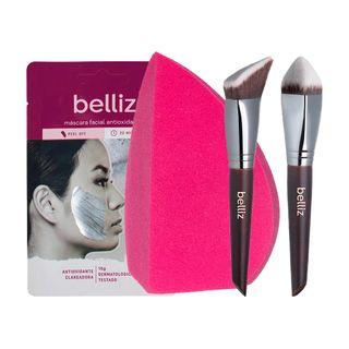 belliz-kit-esponja-mascara-pincel-3d-triangle-kabuki-pincel-3d-pointed-kabuki