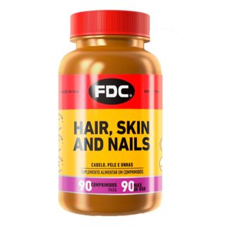 suplemento-polivitaminico-fdc-hair-skin-nails