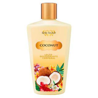 locao-desodorante-coconut-love-secret-para-o-corpo
