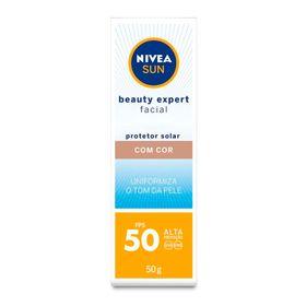 protetor-solar-nivea-sun-beauty-expert-facial-com-cor-fps50