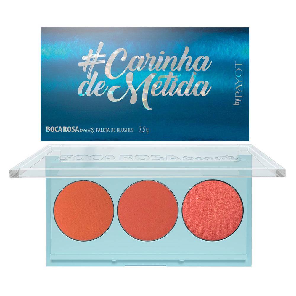 Paleta de Blush Boca Rosa by Payot - #CarinhaDeMetida