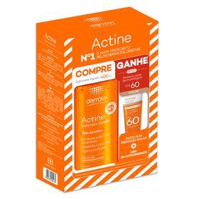 darrow-actine-kit-protetor-solar-com-cor-sabonete-liquido-antiacne