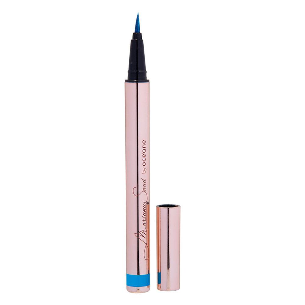 Caneta Delineadora Mariana Saad by Océane - Eyeliner Pen - Real Blue