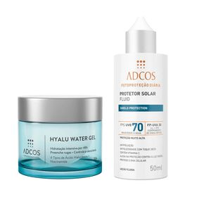adcos-hyalu-water-gel-fps-70-fluid-incolor-kit-hidratante-facial-protetor-solar