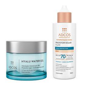 adcos-hyalu-water-gel-fluid-shield-protection-kit-hidratante-facial-protetor-solar-nude