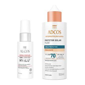 adcos-derma-complex-hyalu-6-fps-70-fluid-tonalizante-kit-serum-facial-protetor-solar