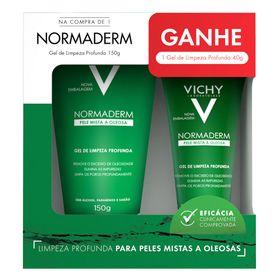 vichy-normaderm-kit-limpeza-profunda-150g-gel-de-limpeza-40g