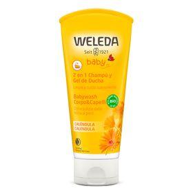 Calendula-Body-Wash-para-o-Bebe-Weleda---Shampoo-e-Gel-de-Banho---200ml-2