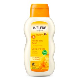 Calendula-Oleo-Hidratante-para-o-Bebe-Weleda---Oleo-Corporal---200ml