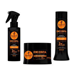 haskell-encorpa-cabelo-kit-finalizador-mascara-shampoo