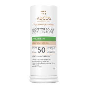 protetor-solar-stick-adcos-fps50-ultra-leve-beige