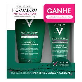 gel-de-limpeza-facial-vichy-normaderm-phytosolution-kit-promocional-150g-40g