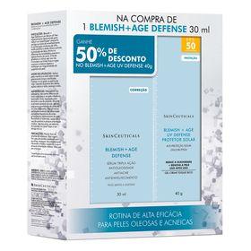serum-e-protetor-solar-skinceuticals-blemish-age-defense-blemish-age-uv-defense-fps50