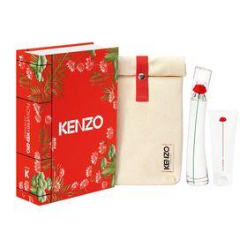 Kenzo-Flower-by-Kenzo-Kit---Perfume-Feminino-EDP---Locao-Corporal---Necessaire