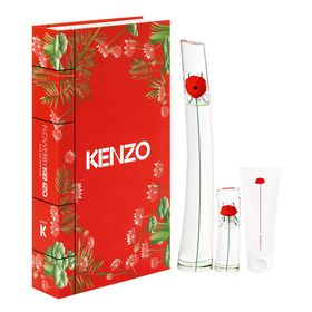 Kenzo-Flower-by-Kenzo-Kit---Perfume-Feminino-EDP---Locao-Corporal---Travel-Size