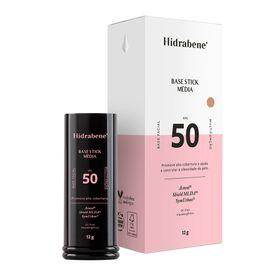 base-facial-multifuncional-hidrabene-stick-fps50-media