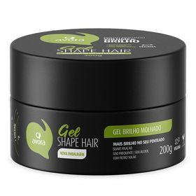 gel-fixador-avora-gel-shape-hair-brilho-molhado-200g