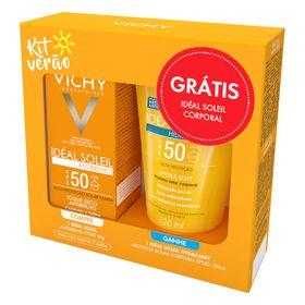 kit-vichy-ideal-soleil-antibrilho-protetor-solar-facial-protetor-solar-corporal