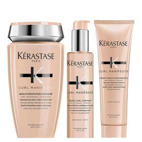kerastase-curl-manifesto-kit-shampoo-gel-em-creme-condicionador