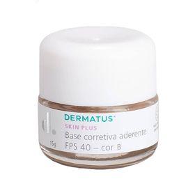 Skin-Plus-Base-Corretiva-Aderente-FPS-40-Dermatus---Base-Facial-Corretiva