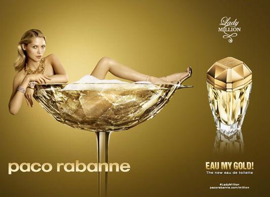 Resultado de imagem para Lady Million – Paco Rabanne
