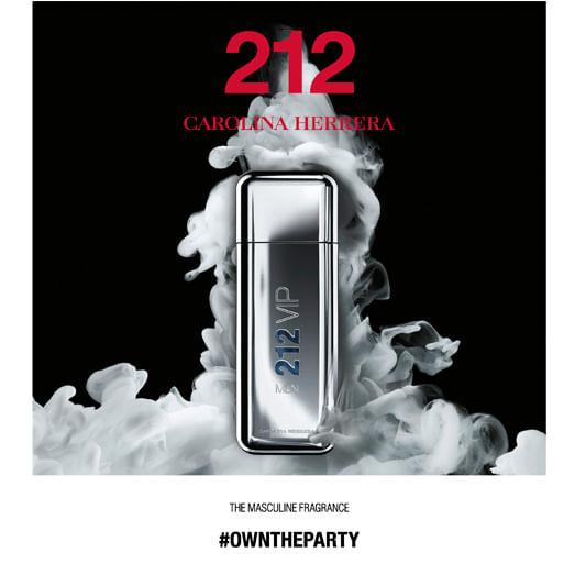 212 Vip Men Carolina Herrera - Perfume Masculino - Eau de Toilette